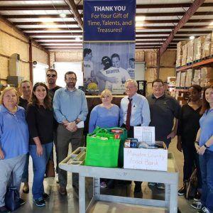 Boyer & Boyer Team Volunteers at the Food Bank of Manatee